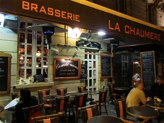 Restaurant La Chaumiere St Pierre Le Moutier Menu