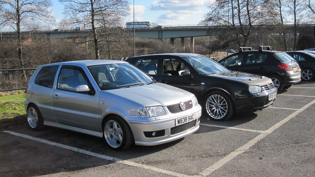 6n2 polo gti and mk4 v6 polo gti sits well with full mk5 g flickr. Black Bedroom Furniture Sets. Home Design Ideas