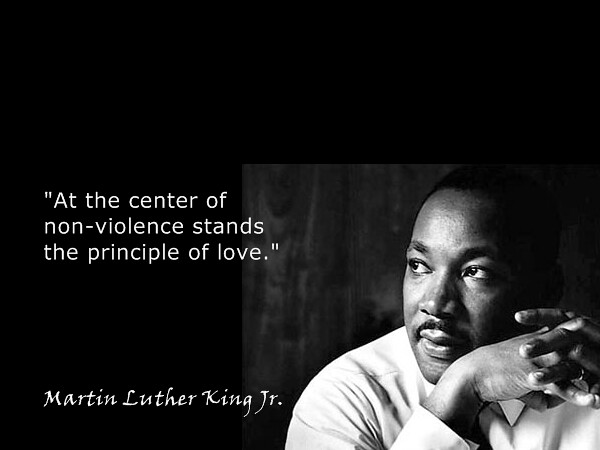 """Martin Luther King Jr. on Non-violence 