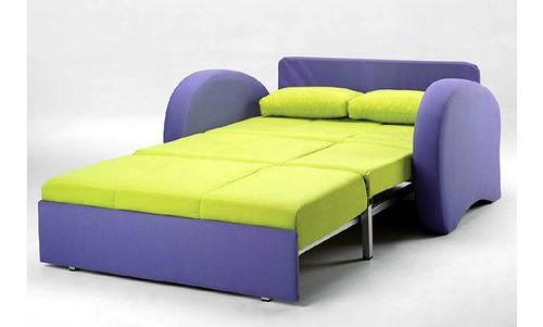 Sof cama en verde y azul sof cama de dise o muy - Sofa cama original ...