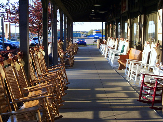 Cracker Barrel Rocking Chairs Flickr Photo Sharing
