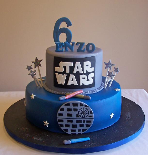 stars wars cake flickr photo sharing. Black Bedroom Furniture Sets. Home Design Ideas