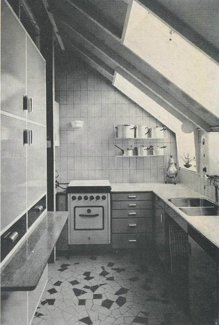 Interieur 1960 keuken ajpg flickr photo sharing for Interieur 1960