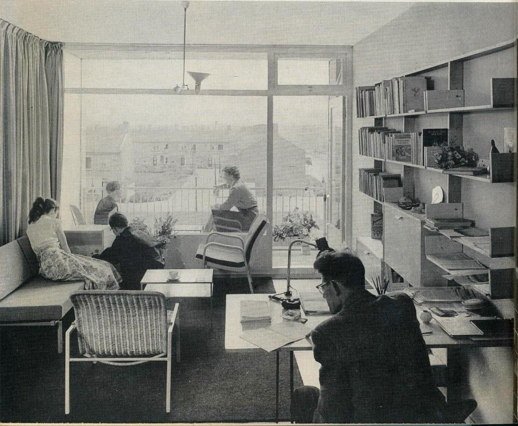 Interieur 1960 woonkamer flat janwillemsen flickr for Interieur 1960
