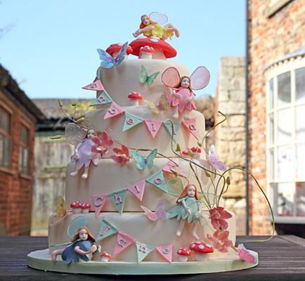 Fairy Birthday Cakes Images