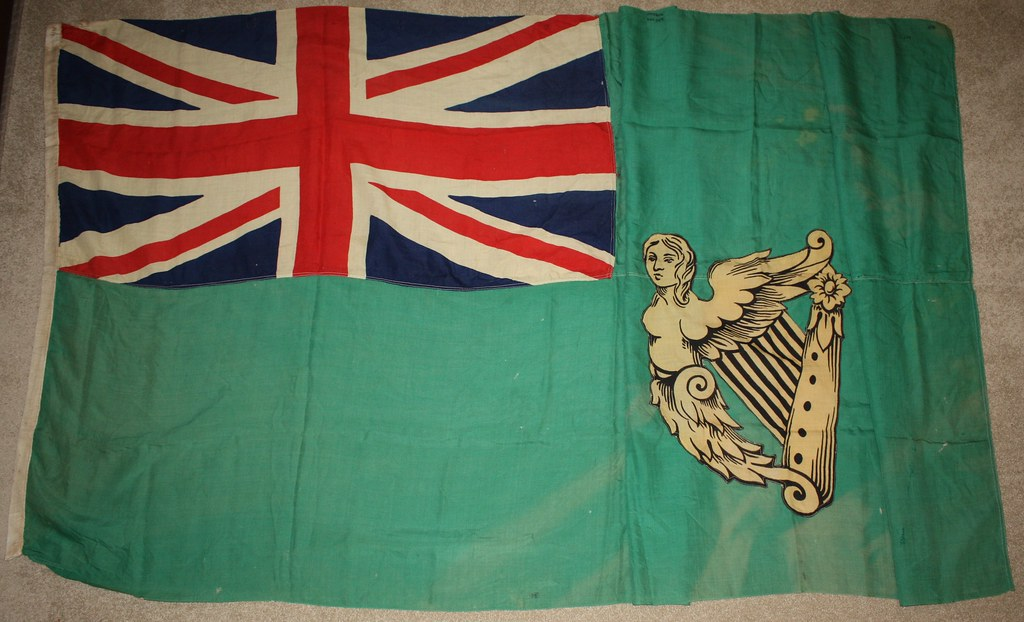 flag of ireland ca 1900