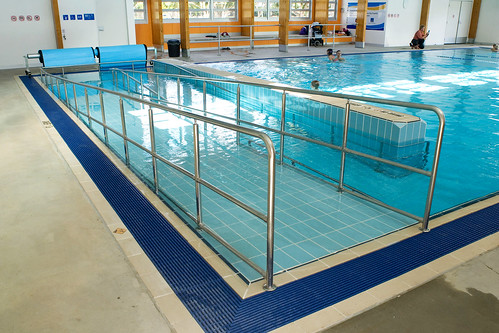 Colmslie Pool Indoor Pool With Disabled Ramp Flickr