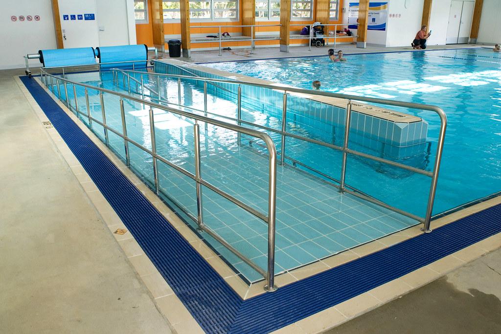 Colmslie Pool Indoor Pool With Disabled Ramp Brisbane