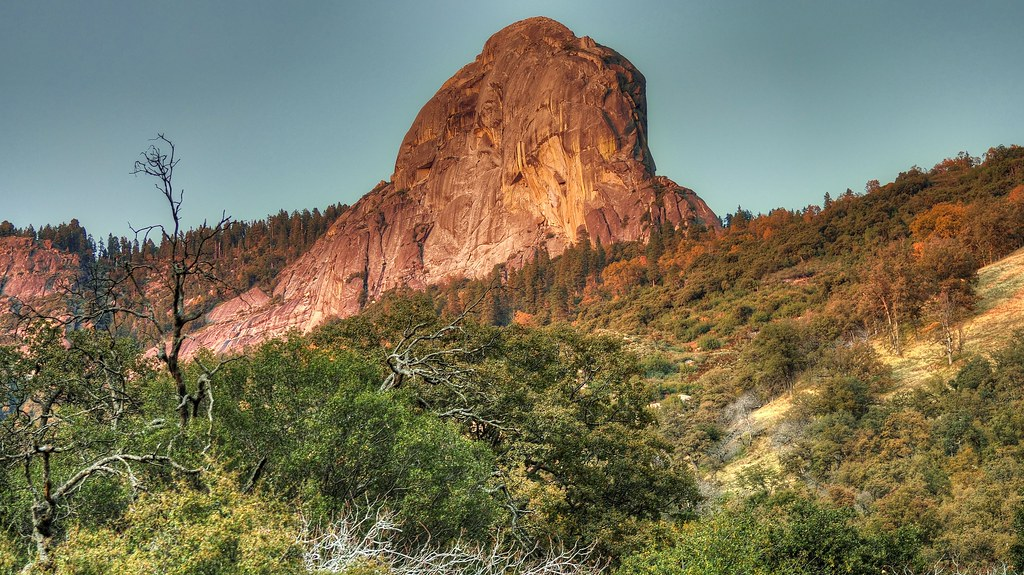 Dome Rock- Sequoia National Park at Sunset.... | Leigh ... Dome Of The Rock