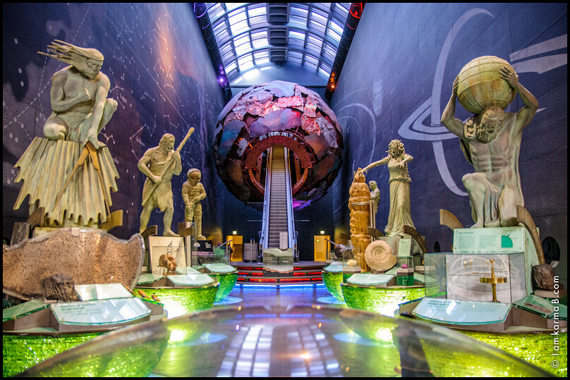 Earth Hall Natural History Museum Vision Of Earth