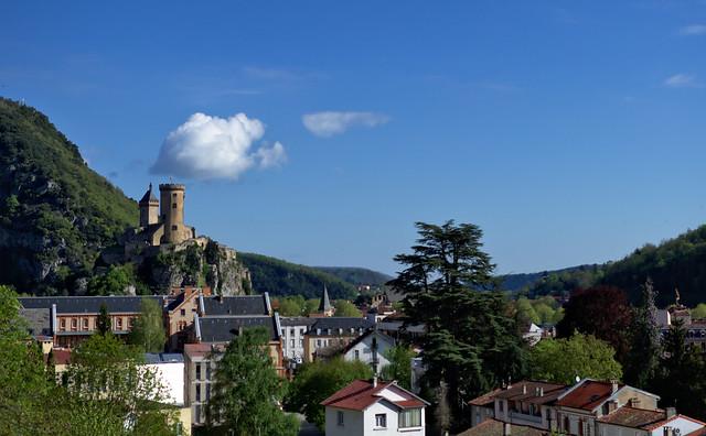 Château sur Foix sur Ariège