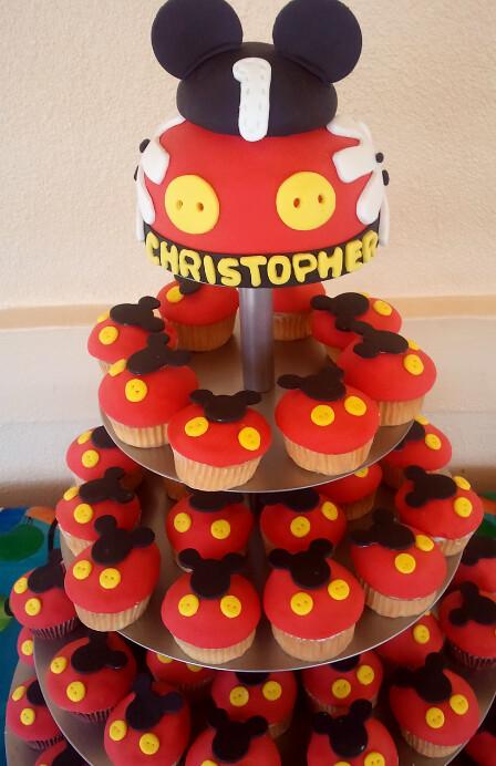 Mickey Mouse Cupcakes Mickey Mouse Cupcakes Flickr