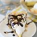 Peanut Butter Banana Cream Pie with Hot Fudge Sauce | Annie's Eats