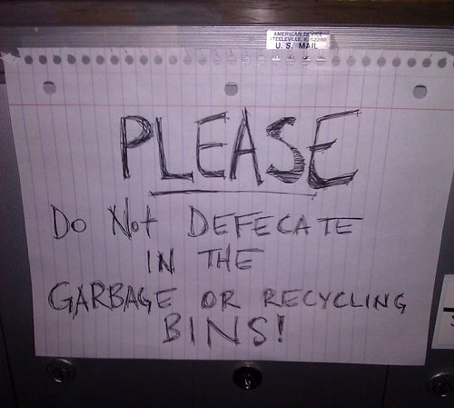 That's not recyclable. | by passiveaggressivenotes