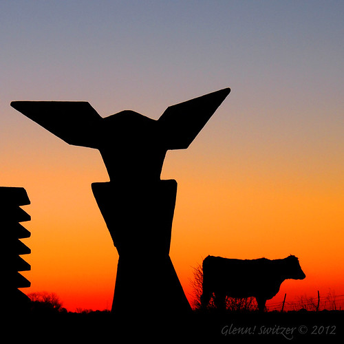 ray & mac plus the cow ~ ArtOrg's Five Sculpture Project | by Glenn! of Dundas