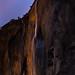 Horsetail Barely (Light on Horsetail Fall, Yosemite)