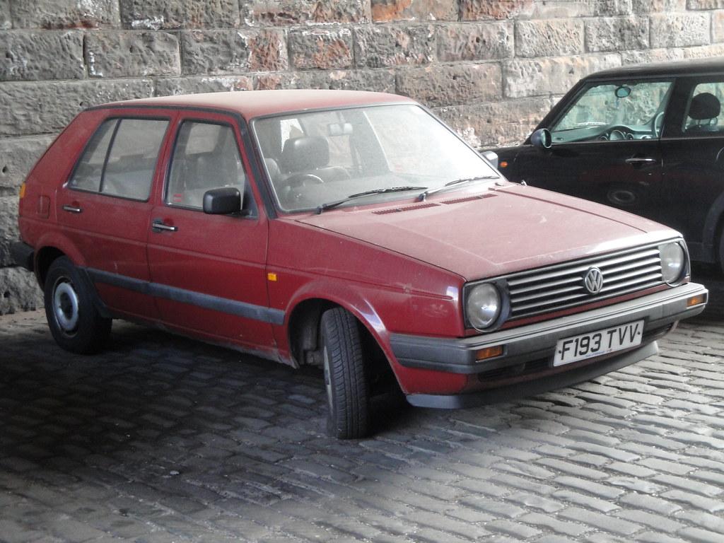 1988 Volkswagen Golf 1 3 Unlicensed Since June 2011 And