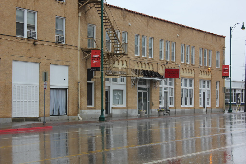 Old Crazy Water Hotel  Mineral Wells  Texas