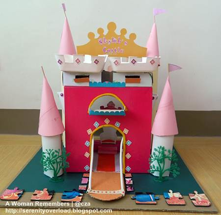 Recyled materials princess castle czaroma flickr for Investigatory project recyclable materials