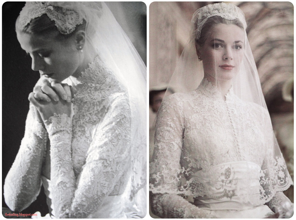 Grace kelly 39 s wedding dress blogged Grace kelly wedding dress design
