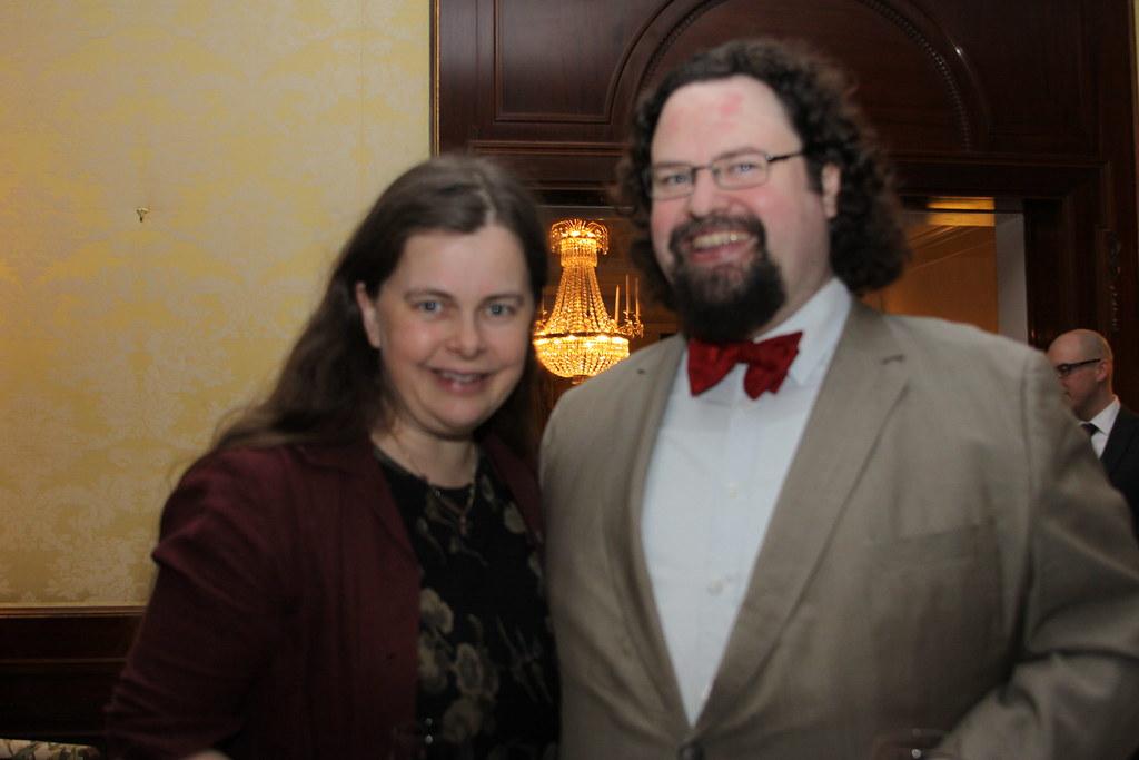 Gunilla Kinn and Edward Blom | US Embassy Sweden | Flickr