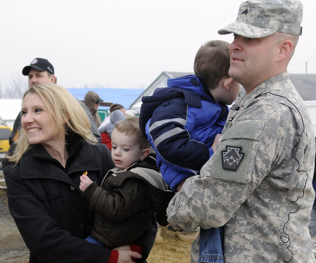 Family friends welcome home 213th fort indiantown gap pa flickr - Countryside homes parents welcoming ...