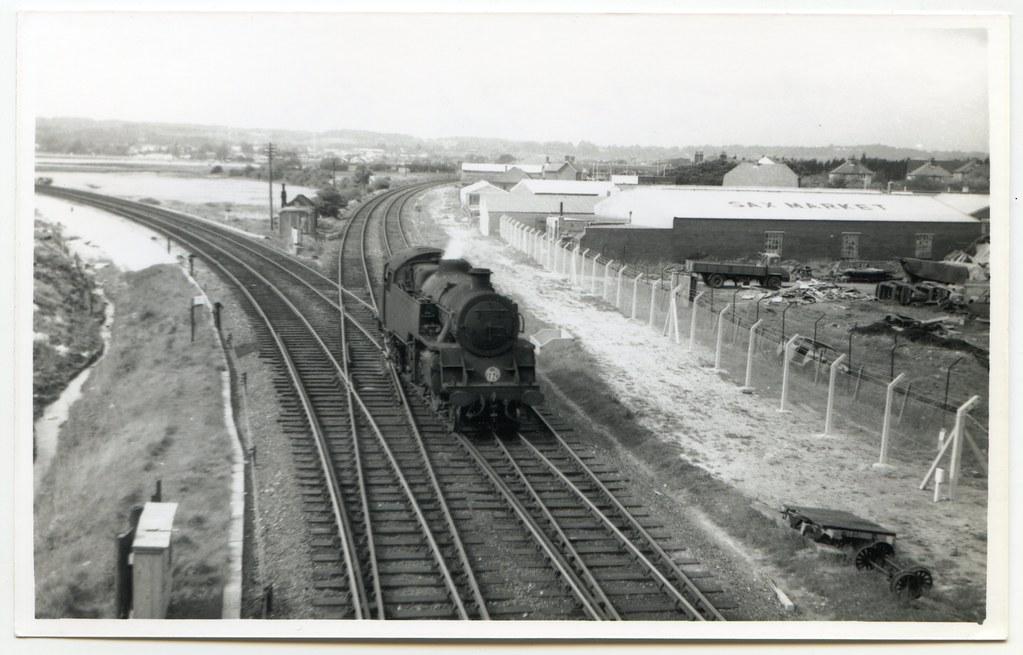 Holes Bay Junction, Poole, Dorset | Robert A. Riddles 4MT ...