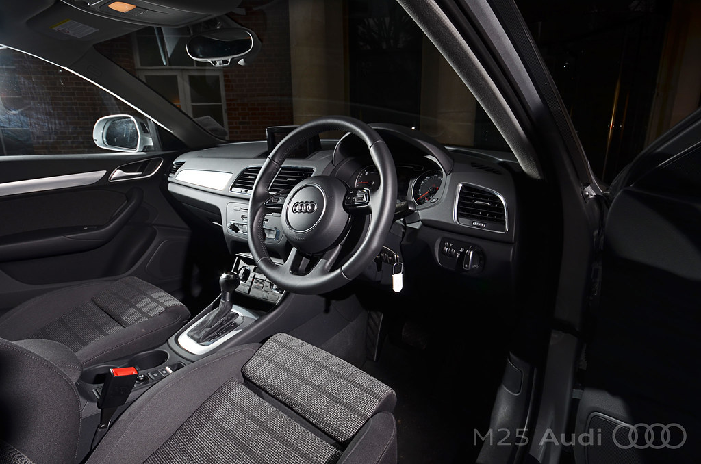 audi q3 interior the interior of the audi q3 is well equip flickr. Black Bedroom Furniture Sets. Home Design Ideas