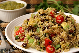 black bean quinoa 6 | by crumblycookie