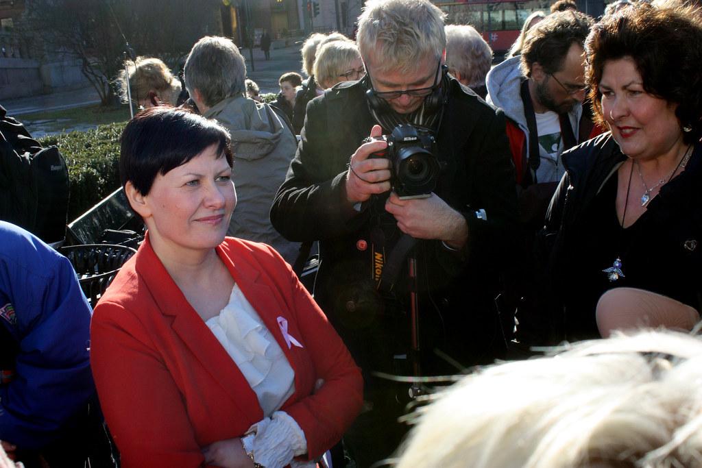 Polen møter kvinner
