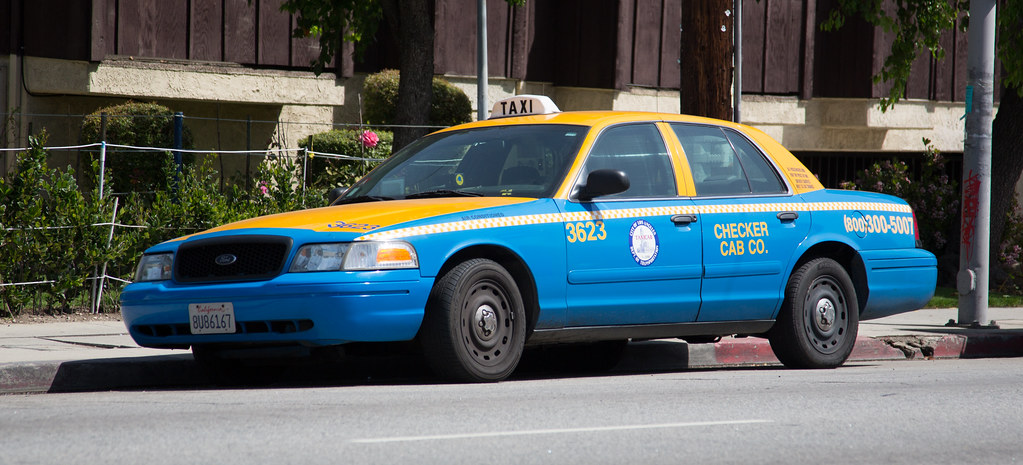 Los Angeles Taxi Cab Ford Crown Victoria Tor Flickr