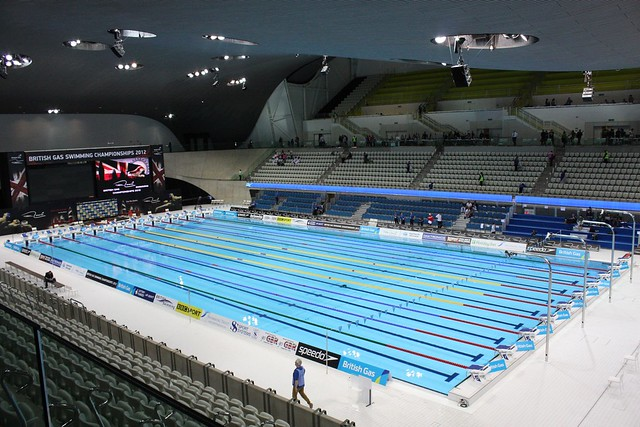 London Olympic Swimming Pool For The London 2012 Olympics Flickr Photo Sharing