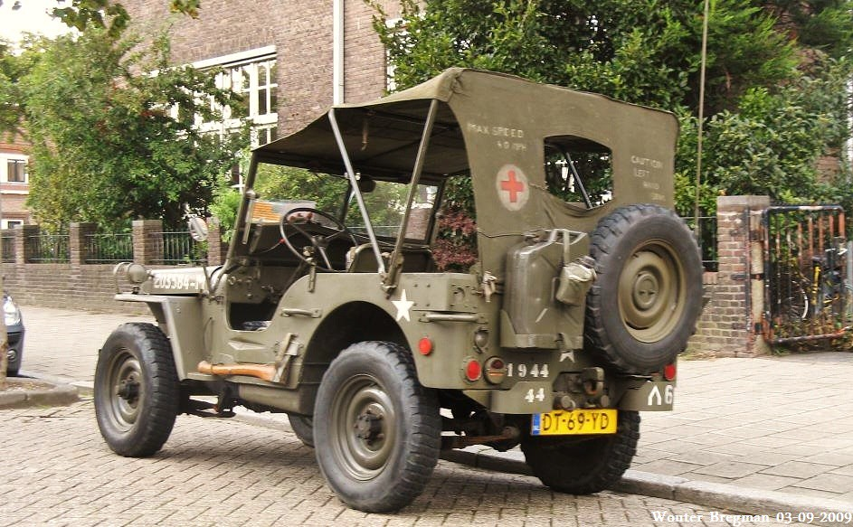 Jeep Willys 1944 >> Willys Jeep 1944 | Haarlem, Netherlands. | Wouter Bregman | Flickr