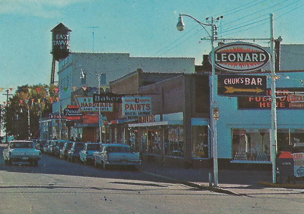 NE East Tawas MI 1960s...
