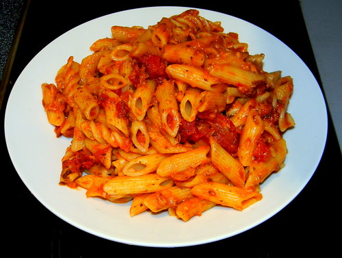 Pasta with tomato sauce Tuna cooked 13th March 2012 1:37.01am | Flickr ...