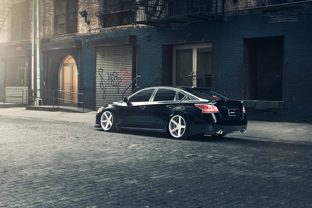 White Nissan Altima >> Vossen Wheels // Nissan Altima   Latest photos from the Niss…   Flickr