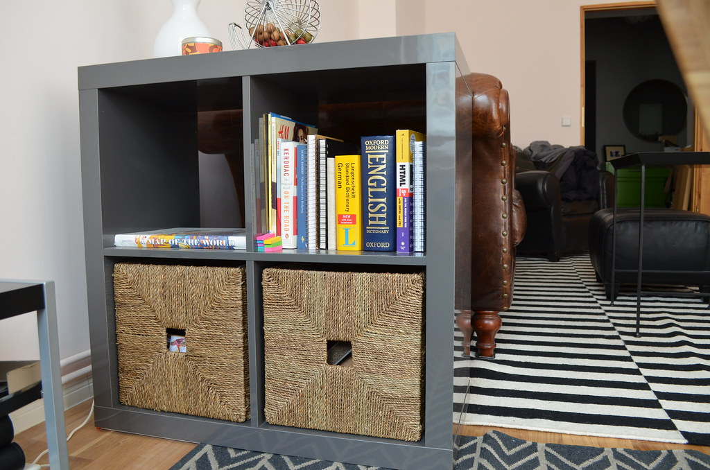 - Berlin Apartment_ikea Kallax Bookcase Side Table Office St… Flickr