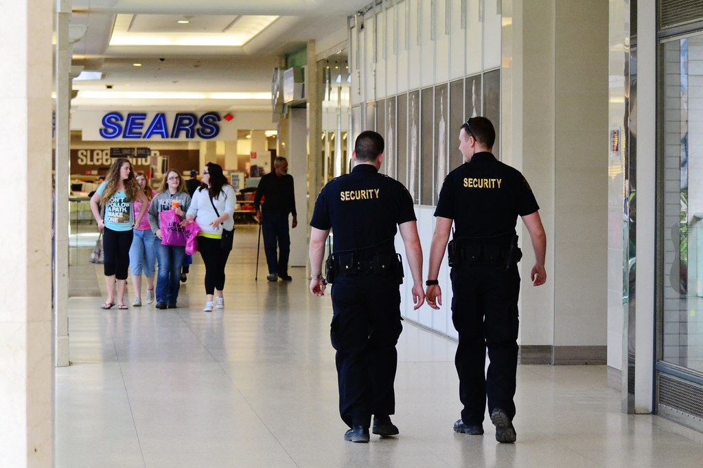 Security preparation in shopping malls