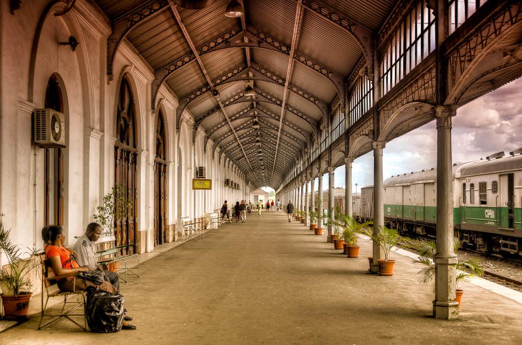Sanskrit Of The Vedas Vs Modern Sanskrit: Maputo Railway Station, Mozambique
