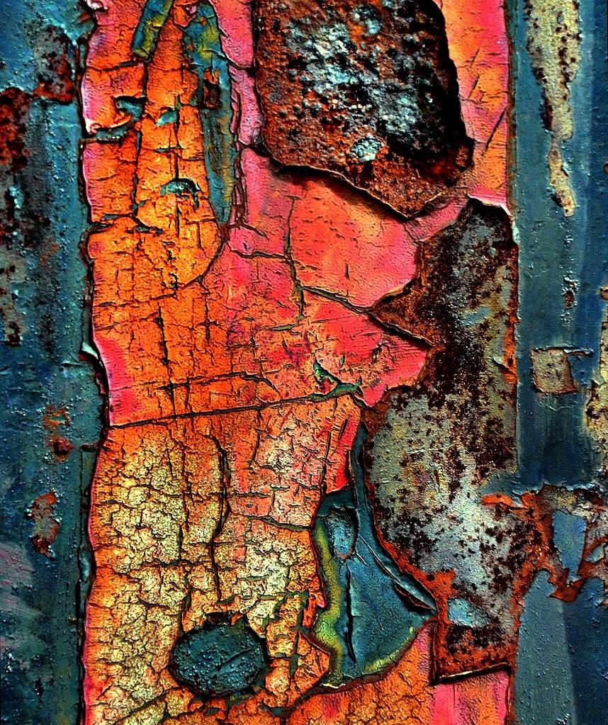 fine art macro photography rust macro pictures