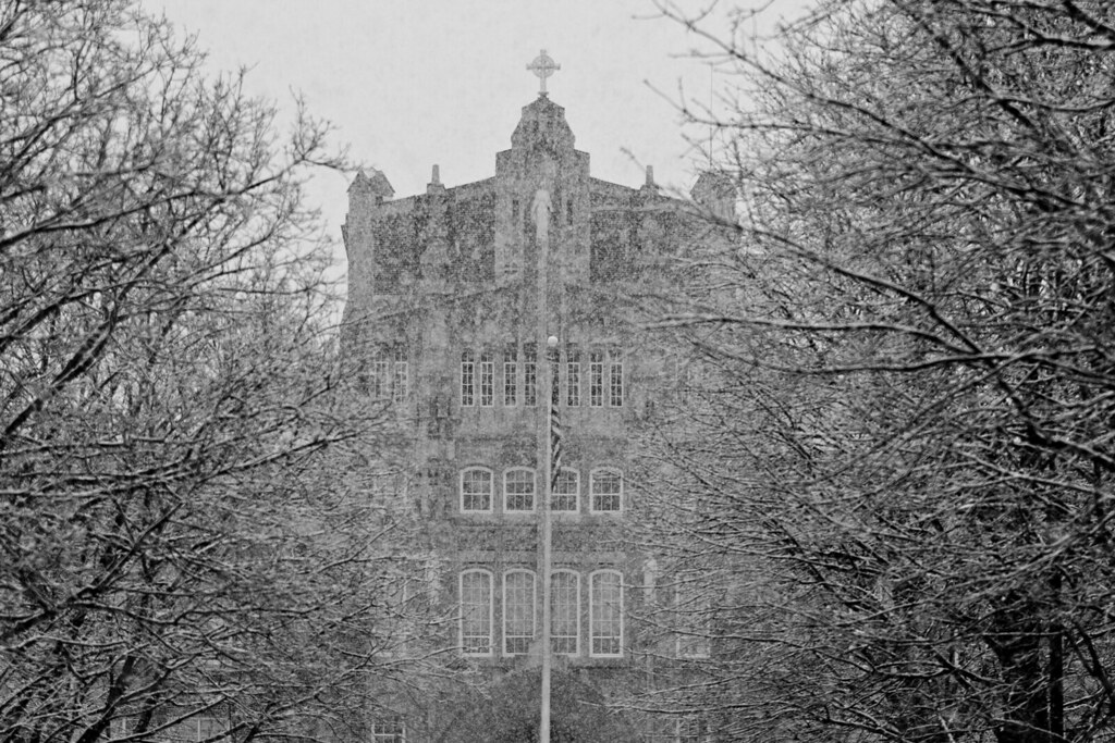 Snowy Providence College Campus  Providence College  Flickr