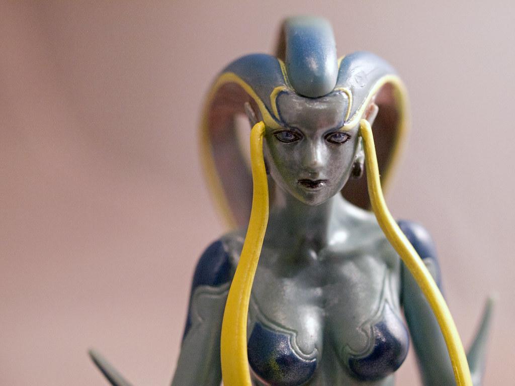 shiva final fantasy viii model im still experimenting