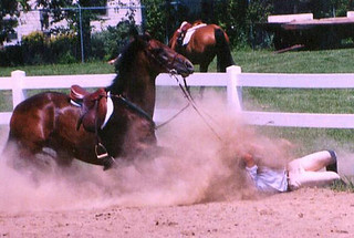 horse-riding-crash-equestrian-sports-blooper-pic | by RedCrake