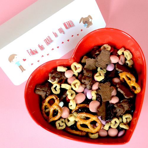 Happy Valentine's Day Trail Mix | pureandyummy | Flickr