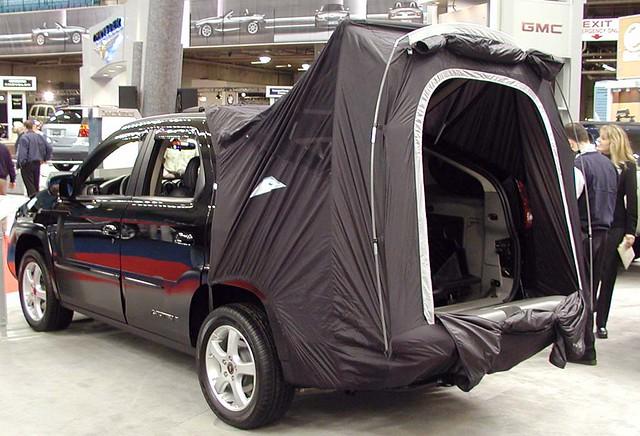 pontiac aztek with tent option flickr photo sharing. Black Bedroom Furniture Sets. Home Design Ideas