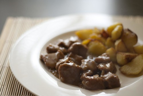 Veal stew made with Port wine | by Luca Nebuloni