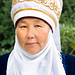 Portrait of Rural Woman, Kyrgyzstan