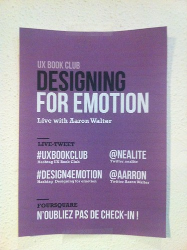 "UX BOOK Club : ""Designing for emotion"" de Aarron Walter 