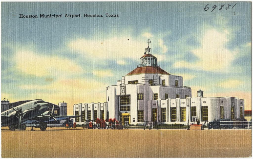 Houston Municipal Airport Houston Texas File Name 06