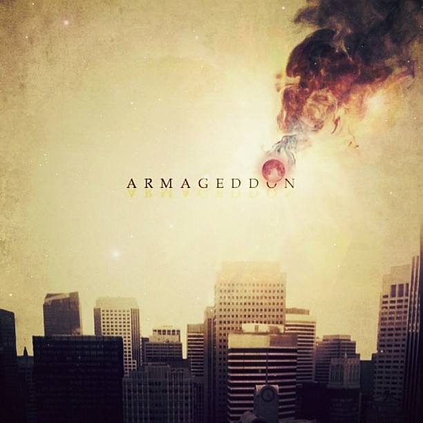 ... both of us editing. Here we go, THE ARMAGEDDON. Enjoy! #parnography